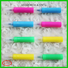 High quality multi-colored chisel tip fluorescent marker pen