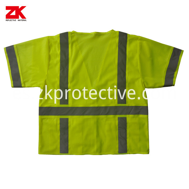 Reflective Waistcoat For Working