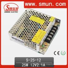 Fuente de alimentación de 25W 12VDC para la iluminación del LED y la tira del LED