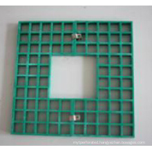 PVC Coated Steel Grating for Tree Pool in High Quality