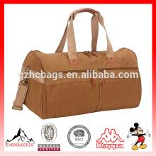 Ручной сумка холст вещевой мешок на выходные