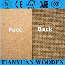 Cheap Price Hardboard/1220X2440mm Brown Hardboard/2.5mm 3mm Hardboard