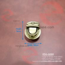 Zinc Alloy Anti Brass Brushed Small Push Button Lock