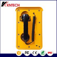 Telefones com serviço pesado Telefone de discagem automática Telefone no túnel Knsp-10 Kntech