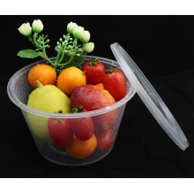 Disposable PP Round Food Containers 1000ml