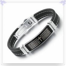 Joyería de moda pulsera de goma pulsera de silicona (lb244)