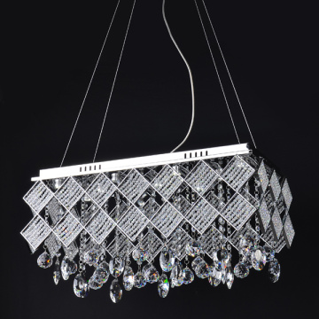 modern crystal pendant light chandeliers hanging led lamp