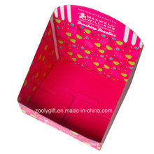 Custom Printing Foldable Corrugated Retail Counter Display Boxes