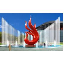 Moderne Garten Abstrakt Beste verkaufte Edelstahl Skulptur zum Verkauf.
