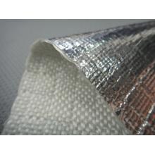 Tecidos de fibra de vidro laminado de alumínio FW600AL