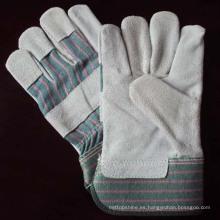 China fábrica de cuero profesional de soldadura guantes de seguridad