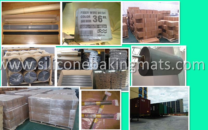 Package Of Fiberglass Insect Screen
