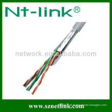 23AWG 8 pares ftp lan cabo cat5e
