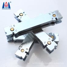 Core bit segment holder welding magnet for silver brazing core drill barrel