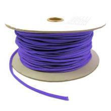 12 mm púrpura ampliable trenza mascotas mangas de cable