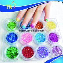 Glitzerpulver für Siebdruck / Farbe / Nagellack / Lidschatten