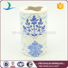 YSb50133-02-th Eco bule flower toothbrush holder for home
