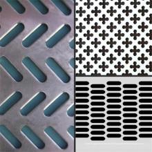 Feuille perforée par acier inoxydable / feuille perforée en métal / maille perforée