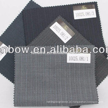 Filarte Super150 Qualidade fina Italia design tecido de lã penteada em estoque