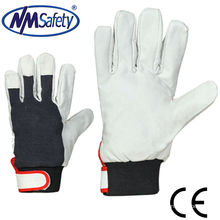 NMSAFETY pig grain leather working glove