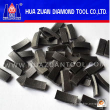 Roof Type Stone Diamond Drilling Bit Segments for Sale
