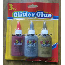 40ml Glitter Glue with Silver and Gold Color