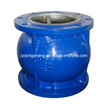 Фланцевый обратный клапан без шланга с распределением воды