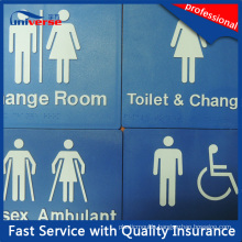 47 Types Australian Standard Braille Signs for Toilet / Washroom / Restroom