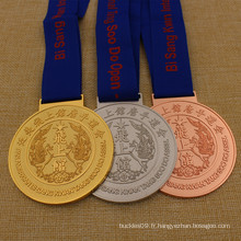 DIY Metal Corée du Sud Pan American Tang Soo Do Médaille