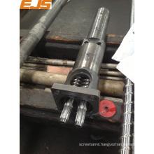 40mm Cincinnati extruder screw barrel