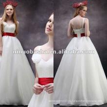 Горячая Продажа одно плечо высокая Талия линии кисть поезд цветок ручной работы свадебное платье свадебное платье ЛЛ-0045