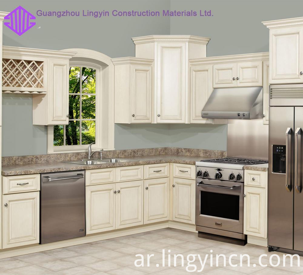 affordable price shaker kitchen design factory sale 3