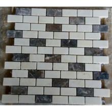 Carrelage en mosaïque en pierre de bande (HSM228)