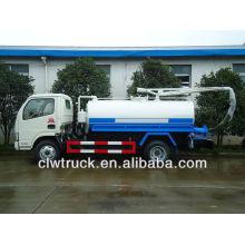 DFAC 3-4 tons small fecal tanker truck