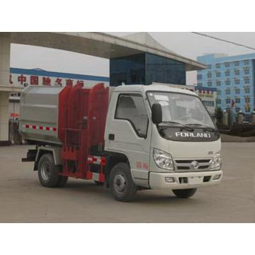 FORLAND Small 4CBM Hydraulic Lifter Garbage Truck