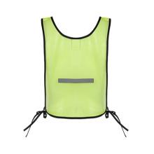 Gilet de sécurité réfléchissant pour vêtements haute visibilité avec maille