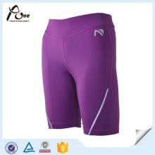 Kompressionsabnutzung Benutzerdefinierte Frauen Sport Shorts