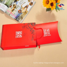 Wholesale custom small gift craft pillow packaging paper box