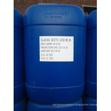 Dyeing Chemicals 99.8% Acetic Acid Glacial CAS No.: 64-19-7