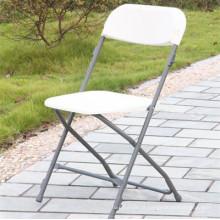Cadeira dobrável de plástico para eventos públicos