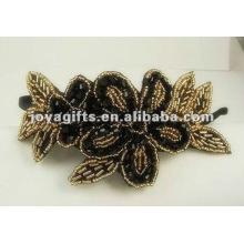Joyería más lastest del abrigo del pelo de la flor de la muchacha 2012