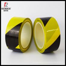 Preço do fabricante PVC personalizado Cabo subterrâneo Vermelho e branco Perigo de perigo detectável Amarelo Caution Road Floor Marking Tape