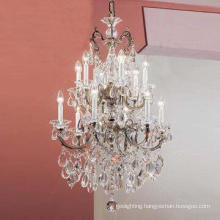 Wedding Modern Crystal Candle Chandelier (WD06066-6+6)