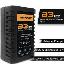 LiPo & Li-on  Battery Balance Charger B3 AC 2S-3S RC  Charging port 7.4-11.1V Pro Compact Charger