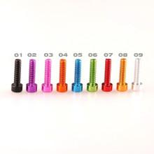 Kundenspezifische Aluminium Coloreful Socket Schrauben / Bolzen für RC Drone / Helicopter