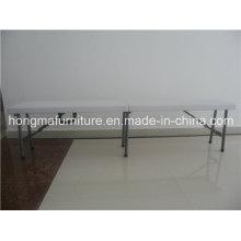 6FT Folding Bench Match com 6FT Folding Table