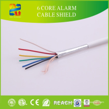 Fectory Price 8 Core Jacket Câble d'alarme PVC Strand Solid Sheilded