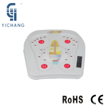 red infared heating vibrating foot massage machine