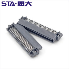 80pin 1.27 right angle scsi connector board to board connector