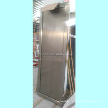 aluminium plate door with champagne color for toilet